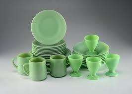reproduction jadeite dinnerware bambra co