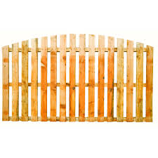 Arched Top Pailing Fence Panels Fencing