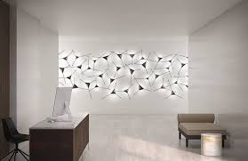this modern sconce doubles as wall art