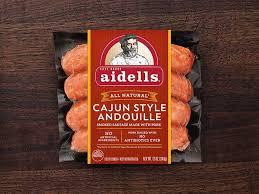 cajun style andouille en sausage