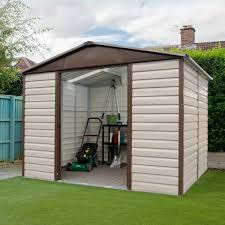 shiplap metal garden shed