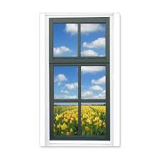 Holland Spring Tulips Faux Window View Wall Decal By The Holland Shop Cafepress