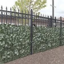 Aleko Scrn94x39indg Unb 94 X 39 In Faux Ivy Privacy Artificial Fence Screen Hedge Wall Walmart Canada