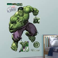 Fathead Realbig Marvel Avengers Assemble Hulk Wall Decal Reviews Wayfair