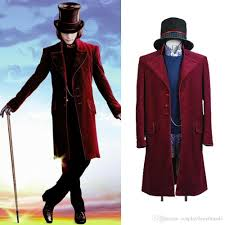Charlie And The Chocolate Factory Willy Wonka Johnny Depp Cosplay Costume  Suit Free Cosplay Costumes Plus Size Anime From Cosplay0any0made, $60.92