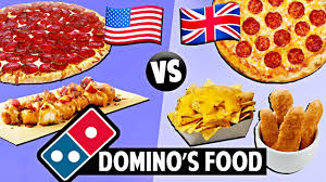 american vs british domino s food