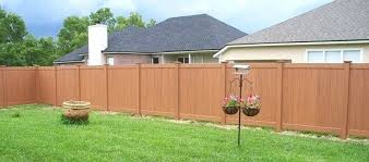 plastic fence home depot stockade fence