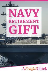 navy retirement gift