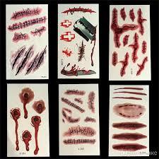 scars tattoos decor sticker