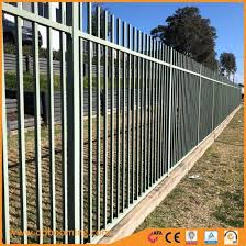 China Plat Top Security Aluminum Fence Panel For Yard Fencing China Garden Fence And Fencing Price