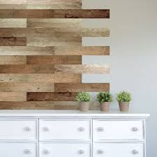 Give Your Walls Shiplap Detail Minus The Fuss With Dcwv S Self Adhesive Vinyl Decals Wall Vinyl Decor Decor Wood Wall Covering