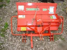 Like new agric al-40-c rotary tiller 3 pt. tractor