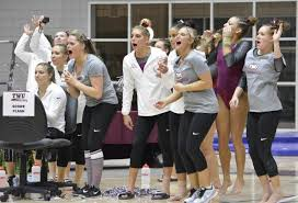 Gymnastics sets program record in season-opening win - Texas Woman's  University Athletics