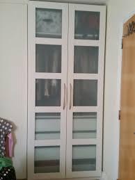 glass panels double doors