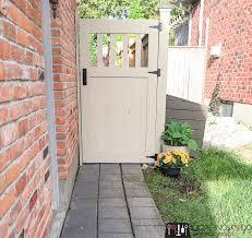 how to make a diy garden gate free