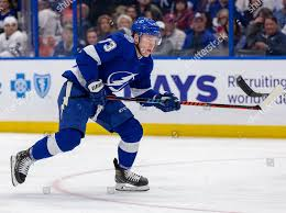 Tampa Bay Lightning left wing Adam Erne Editorial Stock Photo - Stock Image  | Shutterstock