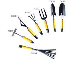 garden tool names image to