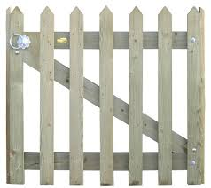 Pointed Pale Palisade Gate Kit Jacksons Fencing