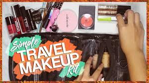 my travel makeup kit simple