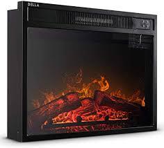 com embedded fireplace electric