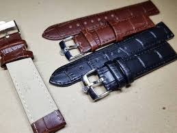 genuine leather strap for rolex
