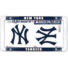 Official New York Yankees Car Accessories Yankees Auto Truck Accessories Mlbshop Com
