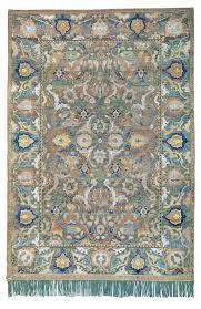 antique rug auction results reflect
