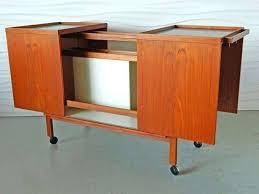 furniture mid century modern glass bar