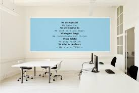 Wall Decal Office Poster Quote We Are Respectful We Have Fun Wall Sticker Usa