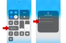 how to screen mirroring iphone 7 to pc