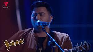 Abel Flores - 'Ain't No Sunshine'   Audiciones a ciegas   La Voz US -  YouTube