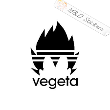 2x Adidas Logo Vegeta Style Vinyl Decal Sticker Different Colors Siz M D Stickers