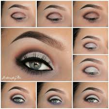 step by step eye makeup pics my