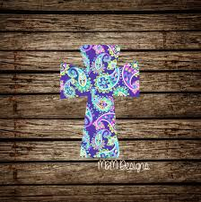 Solid Cross Decal Yeti Decal Glitter Decal Girly Decal Etsy