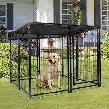 47 H Pet Dog Playpen 8 Panel Folding Metal Portable Puppy Exercise Pen Dog Fence Ebay