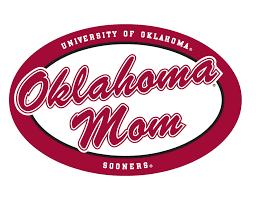 Oklahoma Mom 6 Oval Vinyl Decal