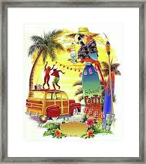 Woodie Framed Art Prints Fine Art America