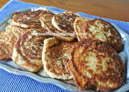 hoecakes or fried cornbread the