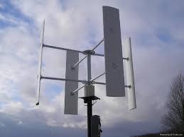 vertical wind turbine iso ce 500w