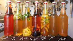 flavoring and carbonating kombucha
