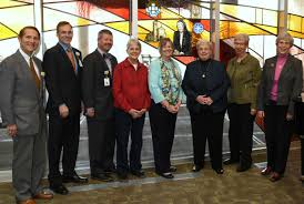 TriHealth Honors Sister Myra James Bradley, SC with Stained Glass    TriHealth