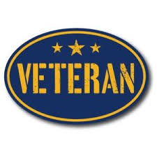 Navy Veteran 4x6 Blue Oval Magnet Decal With Stars Perfect For Car Or Truck Ebay
