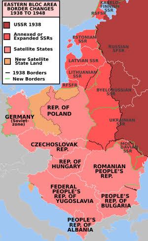 """İkinci dünya savaşı sonrası sovyet işgalleri ile ilgili görsel sonucu"""""""