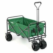 collapsible garden beach utility push cart