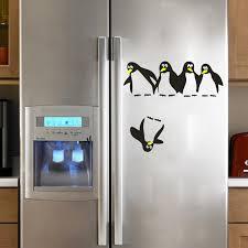 Funny Falling Penguins Diy Wall Sticker Bathroom Toliet Fridge Tiny Wall Decal Window Glass Stickers Home Decor Wall Decals Decorative Wall Decal Window Glass Stickersstickers Bathroom Aliexpress