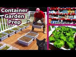 soil planting square foot gardening