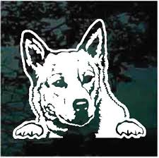Australian Cattle Dog Car Decals Stickers Decal Junky