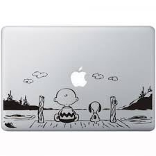 Snoopy En Charlie Brown Macbook Decal Kongdecals Macbook Decals