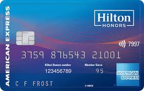 hilton honors surp card from