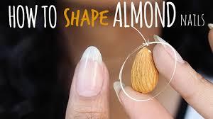 shape perfect almond nails abetweene